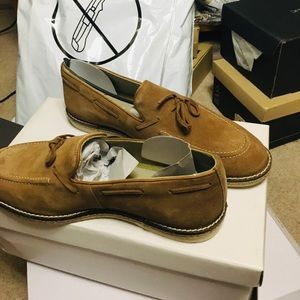 NWT w/Box Steve Madden Suede Slip-Ons